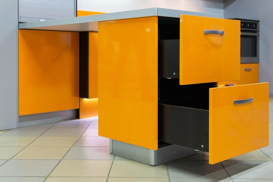 Белый кухонный гарнитур-Кухня МДФ в ПВХ «Модель 44»-фото4