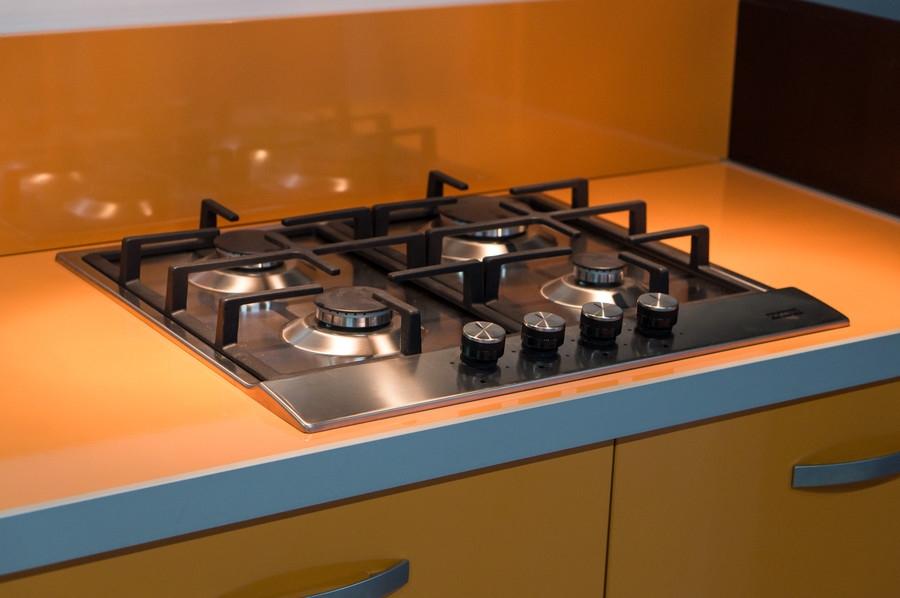 Белый кухонный гарнитур-Кухня МДФ в ПВХ «Модель 44»-фото7