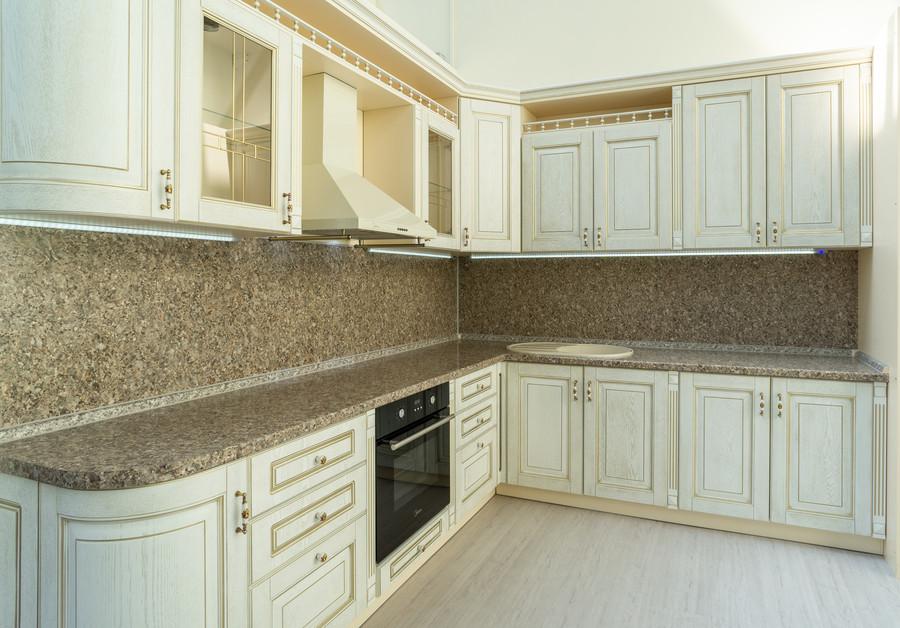 Встроенная кухня-Кухня МДФ в пластике «Модель 50»-фото1