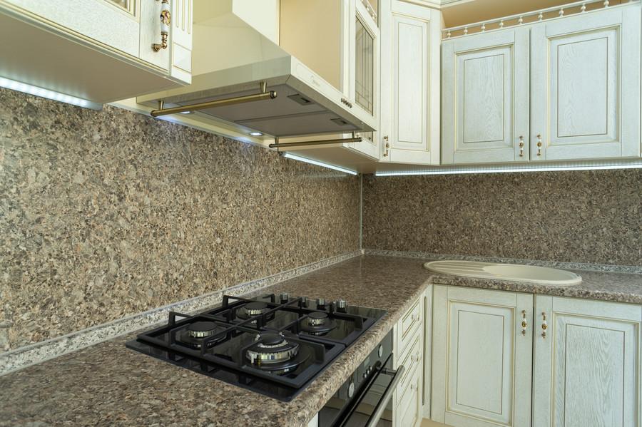 Бежевые кухни-Кухня МДФ в пластике «Модель 50»-фото2