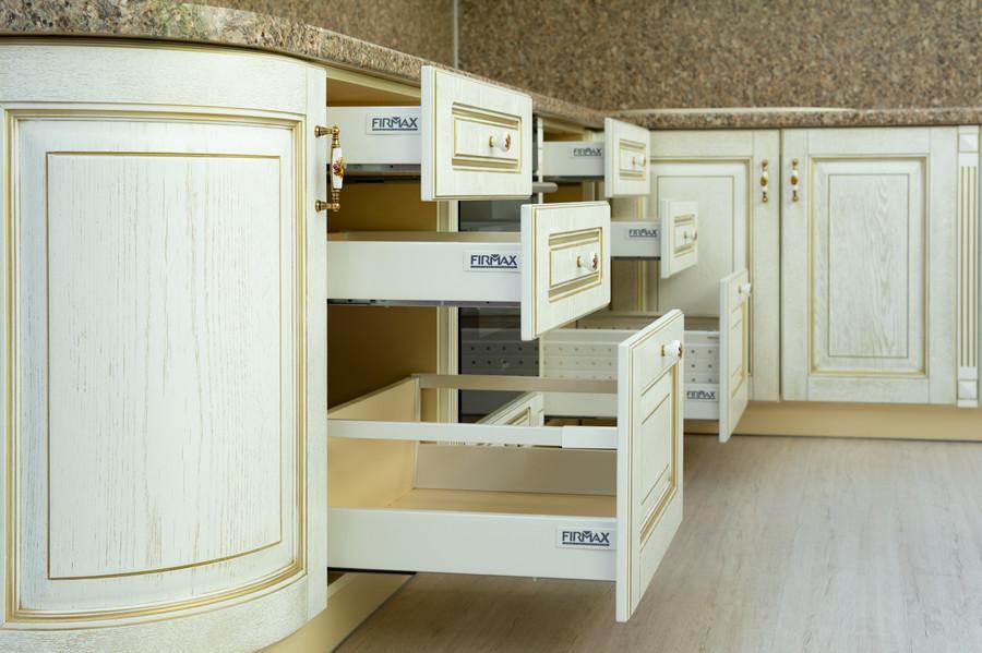Встроенная кухня-Кухня МДФ в пластике «Модель 50»-фото6