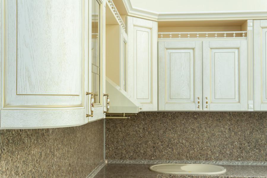 Белый кухонный гарнитур-Кухня МДФ в пластике «Модель 50»-фото3