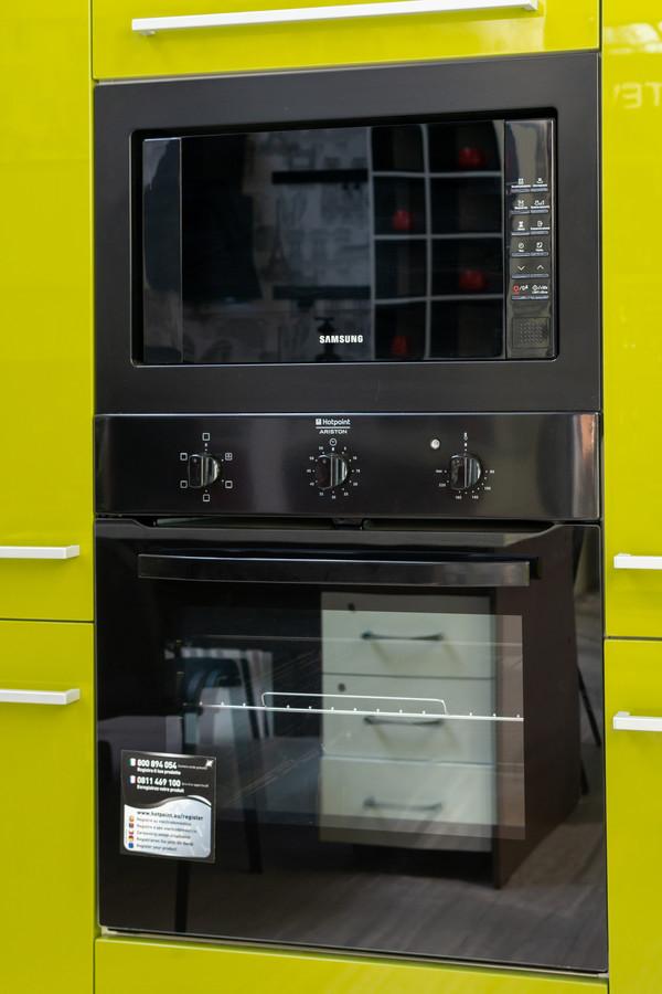 Белый кухонный гарнитур-Кухня МДФ в ПВХ «Модель 53»-фото2