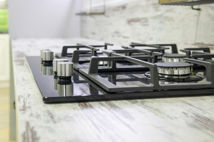 Белый кухонный гарнитур-Кухня из массива «Модель 46»-фото7
