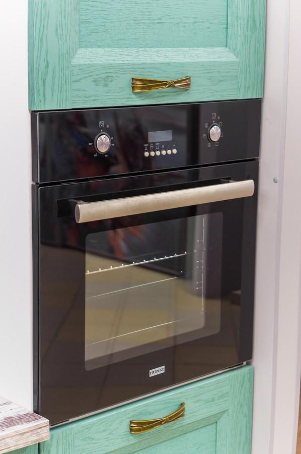 Белый кухонный гарнитур-Кухня из массива «Модель 46»-фото3
