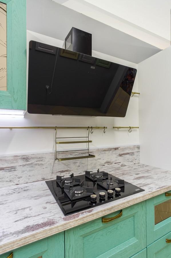 Белый кухонный гарнитур-Кухня из массива «Модель 46»-фото2