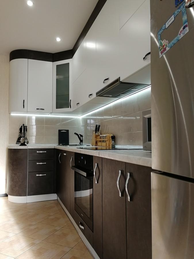 Купить кухню-Кухня МДФ в ПВХ «Модель 27»-фото2