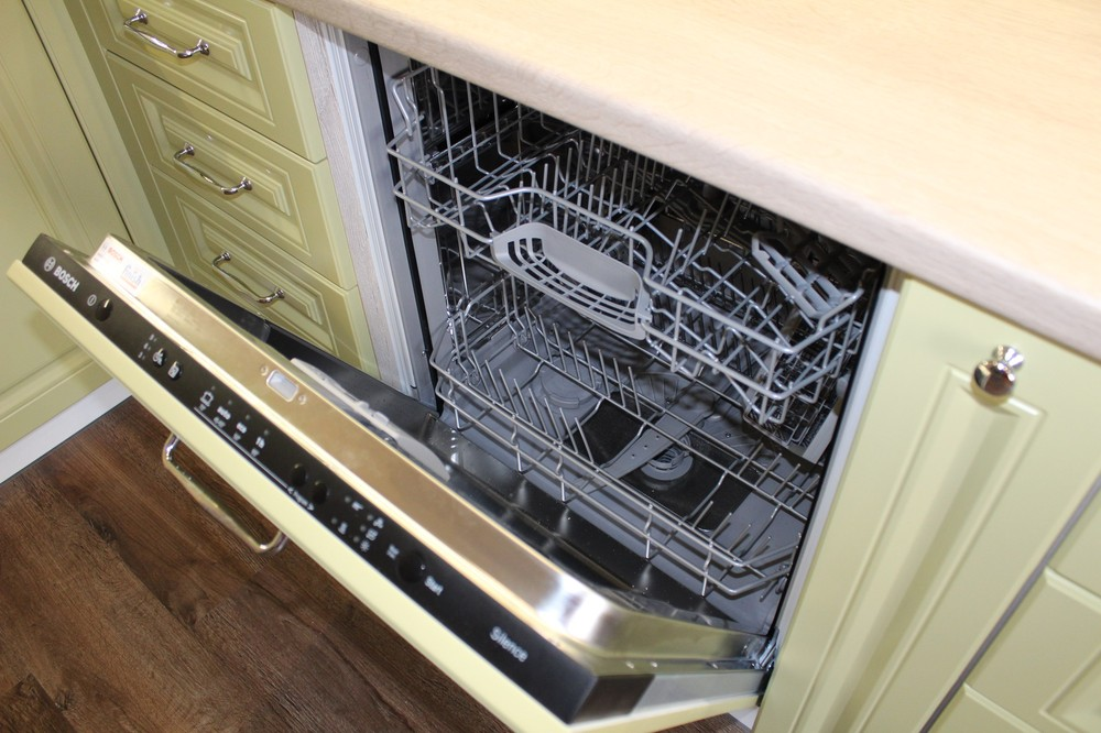 Встроенная кухня-Кухня МДФ в ПВХ «Модель 91»-фото7