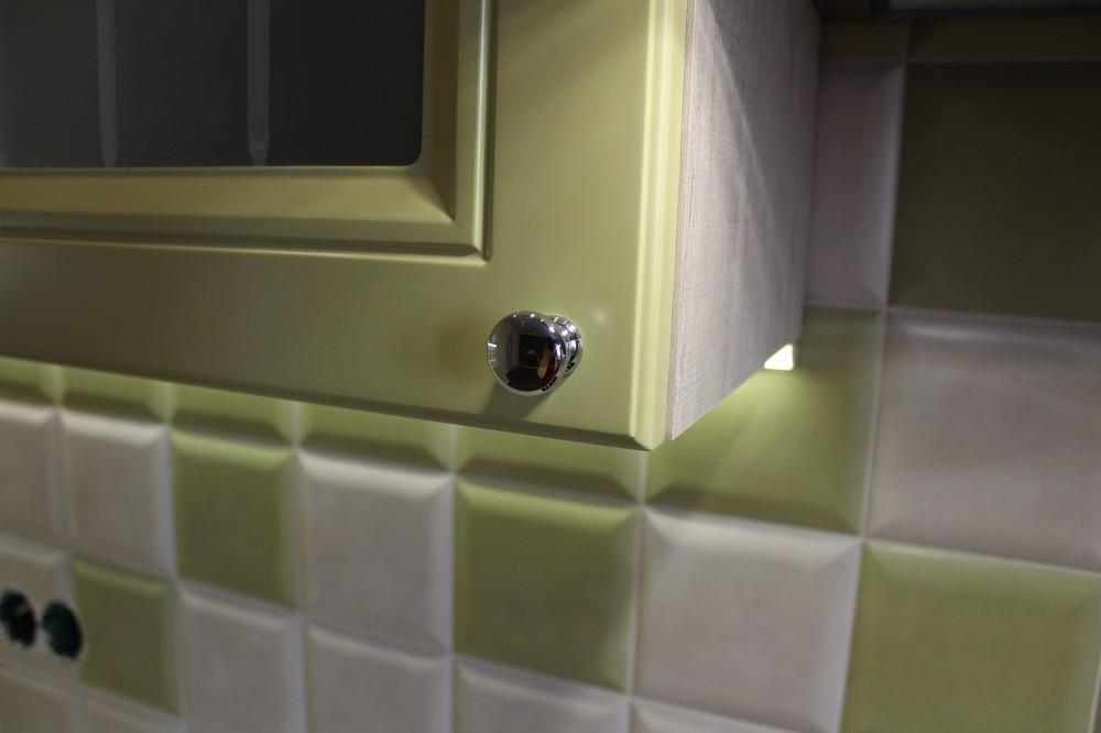 Встроенная кухня-Кухня МДФ в ПВХ «Модель 91»-фото8
