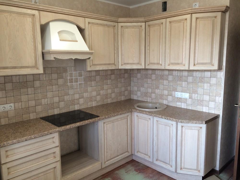 Белый кухонный гарнитур-Кухня МДФ в ПВХ «Модель 322»-фото3