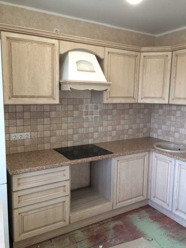 Белый кухонный гарнитур-Кухня МДФ в ПВХ «Модель 322»-фото5
