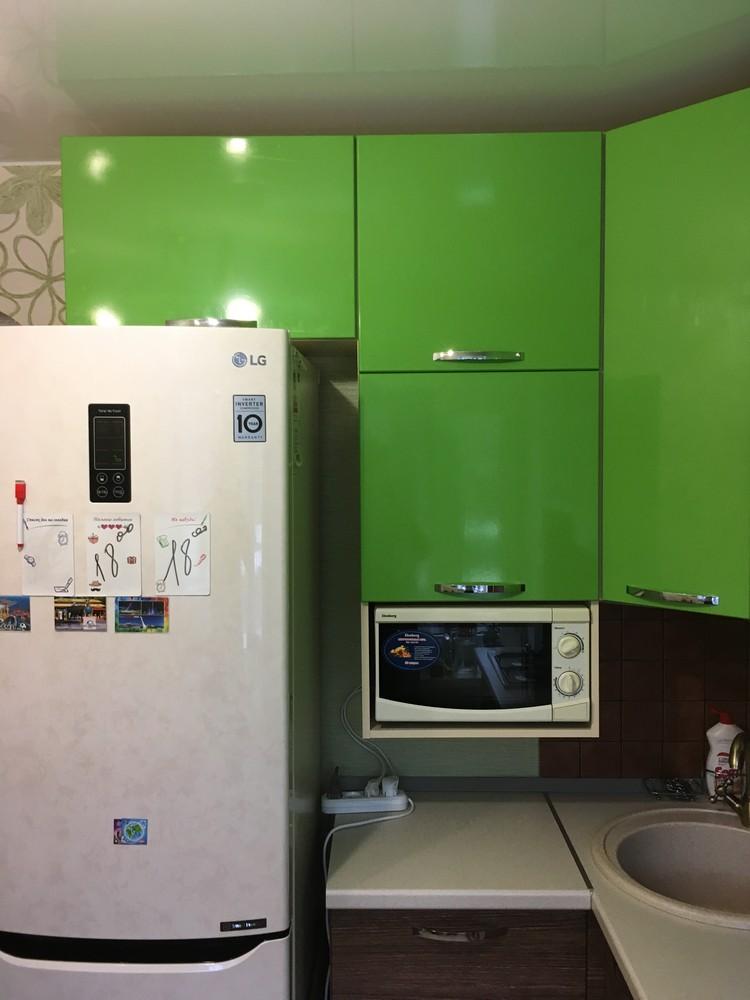 Встроенная кухня-Кухня МДФ в ПВХ «Модель 310»-фото4