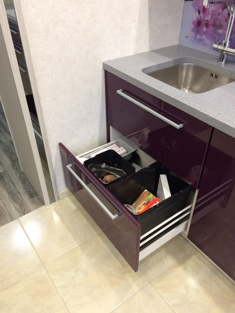 Акриловые кухни-Кухня из пластика «Модель 110»-фото8