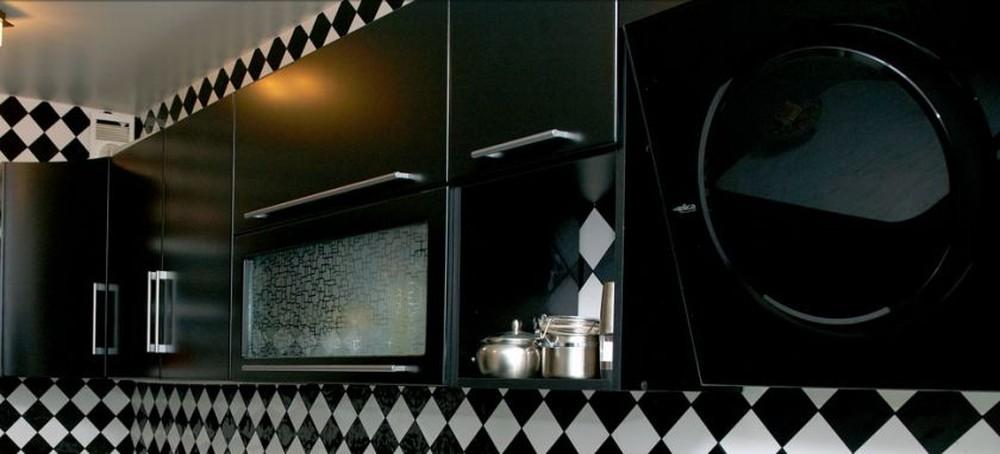 Встроенная кухня-Кухня МДФ в ПВХ «Модель 372»-фото3