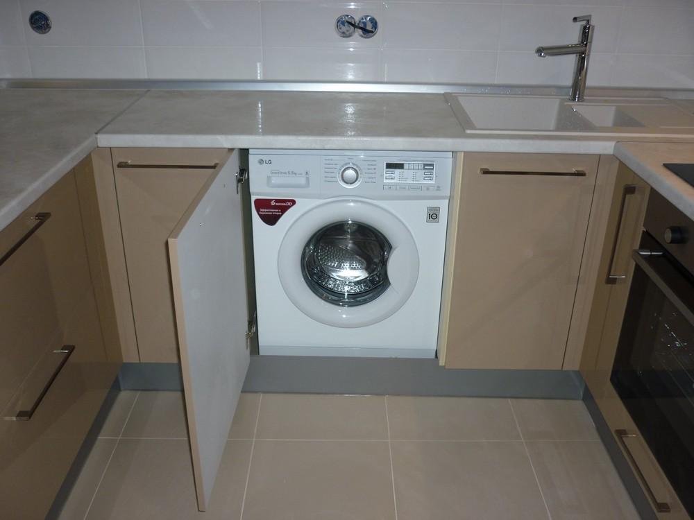 Встроенная кухня-Кухня МДФ в ПВХ «Модель 260»-фото3