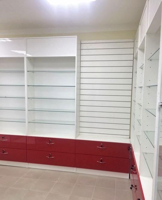 Торговая мебель-Мебель для аптеки «Модель 184»-фото3