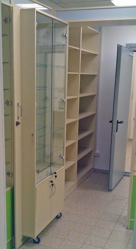 Торговая мебель-Мебель для аптеки «Модель 192»-фото2