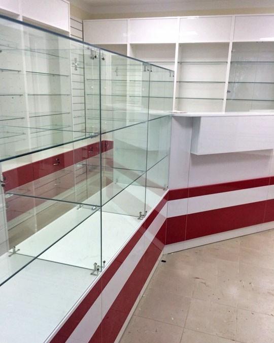 Торговая мебель-Мебель для аптеки «Модель 184»-фото2