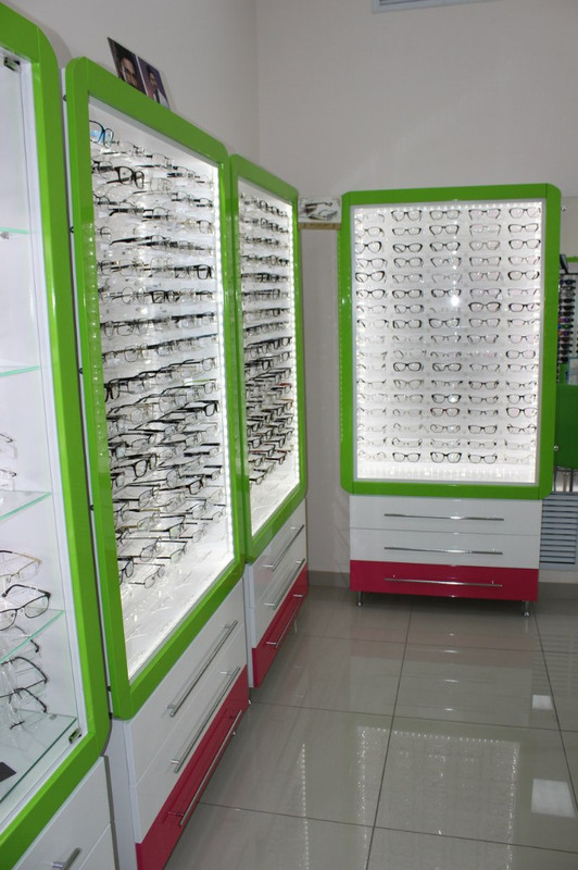 Торговая мебель-Мебель для оптики «Модель 204»-фото1