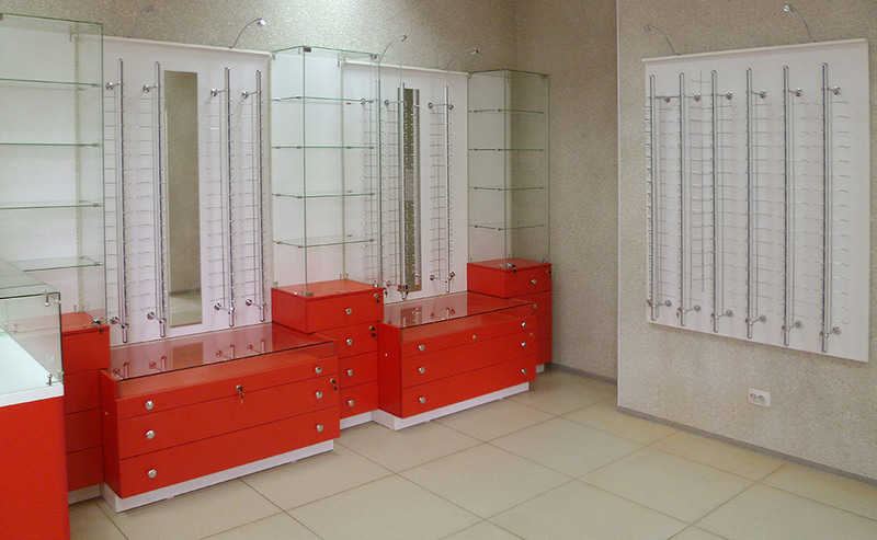 Торговая мебель-Мебель для оптики «Модель 208»-фото2