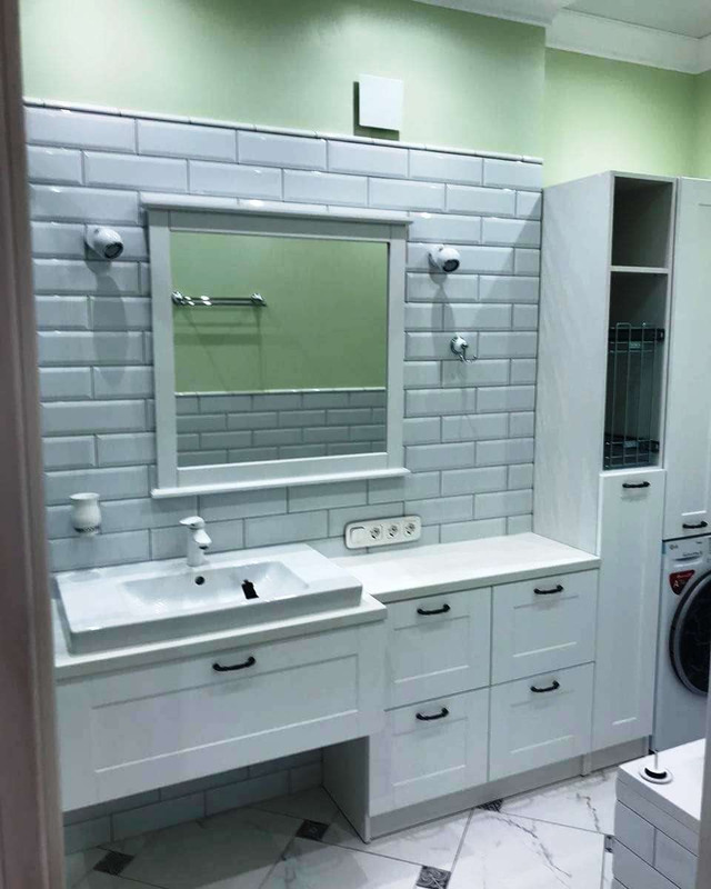 Мебель для ванной комнаты-Мебель для ванной «Модель 9»-фото1