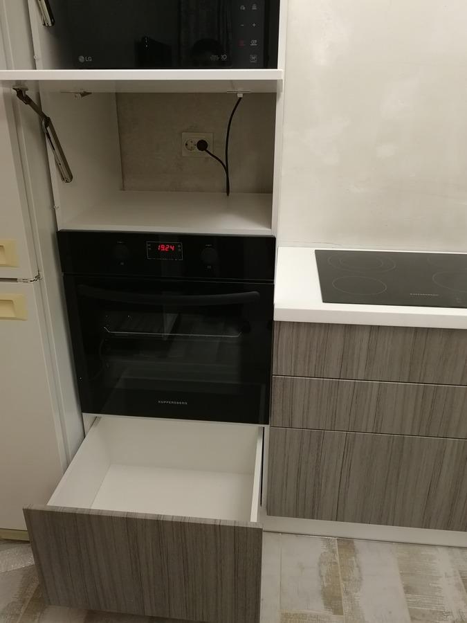 Кухни на заказ-Кухня МДФ в ПВХ «Модель 348»-фото6