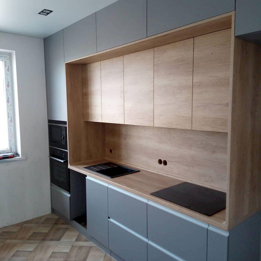 Встроенная кухня-Кухня из ЛДСП «Модель 652»-фото1