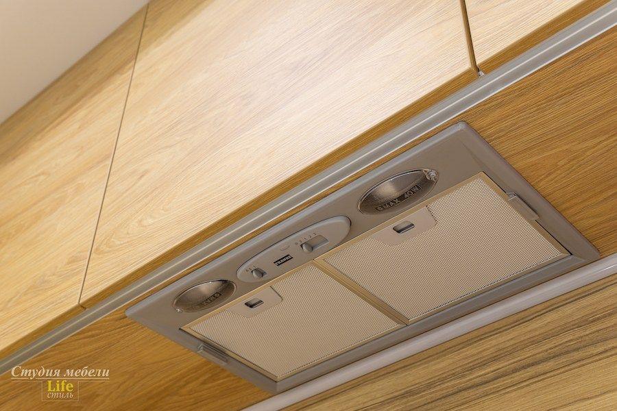 Белый кухонный гарнитур-Кухня МДФ в эмали «Модель 556»-фото9