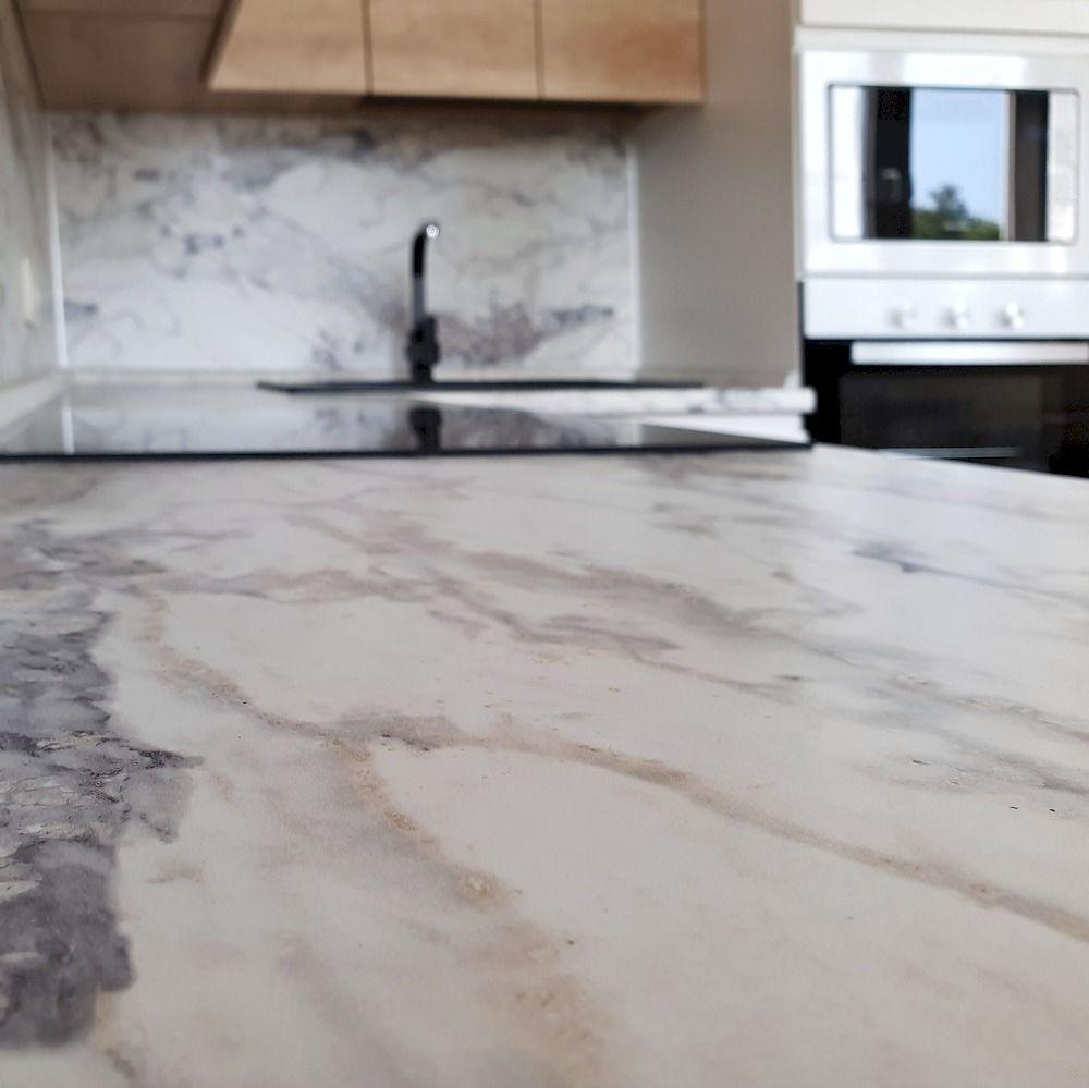 Белый кухонный гарнитур-Кухня МДФ в эмали «Модель 526»-фото6