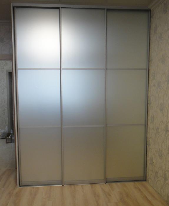 Белые шкафы-купе-Шкаф-купе с зеркалом «Модель 179»-фото1