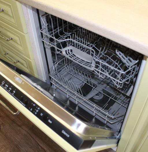 Встроенная кухня-Кухня МДФ в ПВХ «Модель 91»-фото9