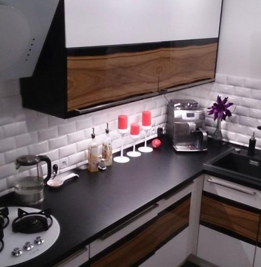 Встроенная кухня-Кухня МДФ в ПВХ «Модель 258»-фото4