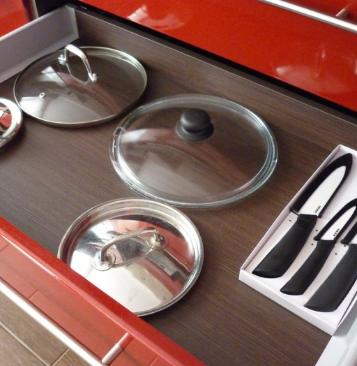 Встроенная кухня-Кухня МДФ в ПВХ «Модель 264»-фото10