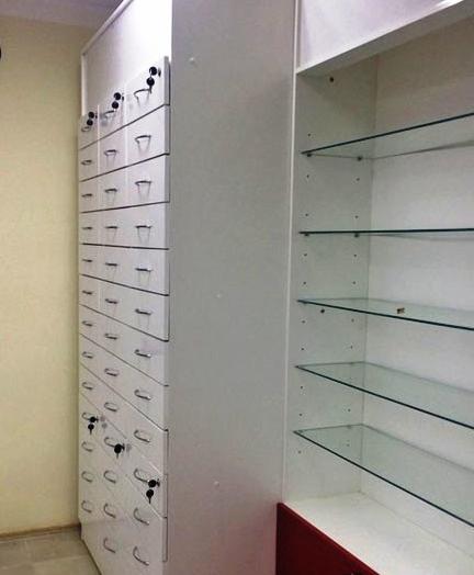 Торговая мебель-Мебель для аптеки «Модель 184»-фото5