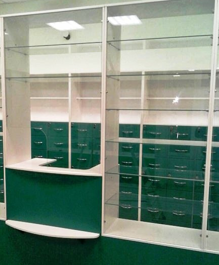 Торговая мебель-Мебель для аптеки «Модель 188»-фото5