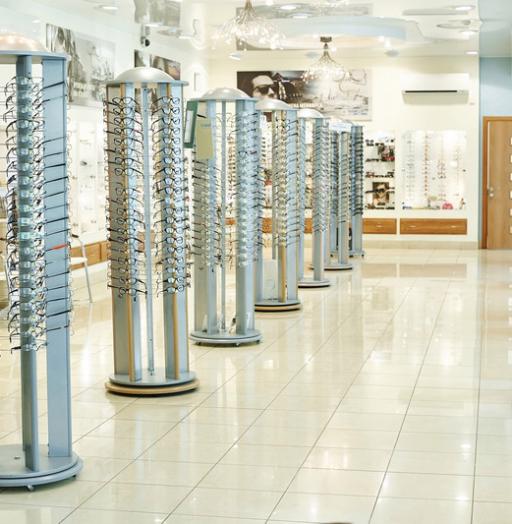 Торговая мебель-Мебель для оптики «Модель 207»-фото4