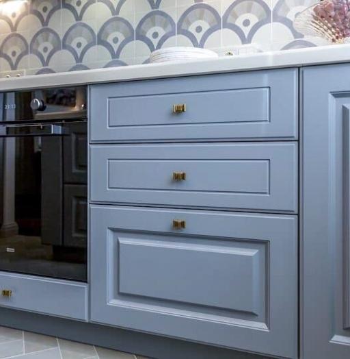 -Кухня МДФ в эмали «Модель 420»-фото23