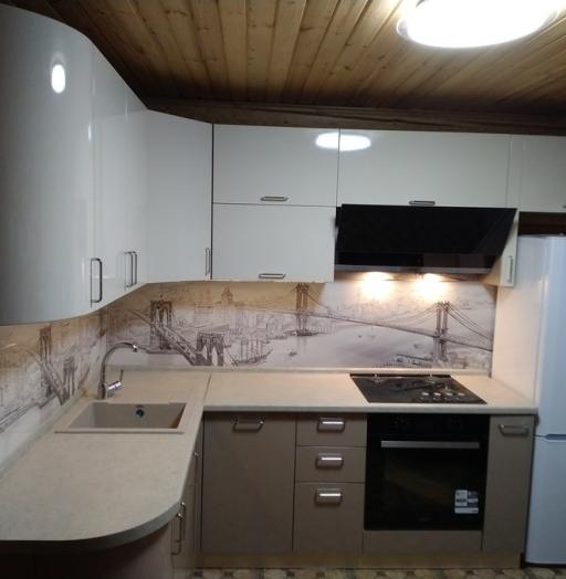 -Кухня МДФ в ПВХ «Модель 38»-фото30