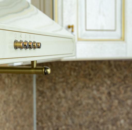 Белый кухонный гарнитур-Кухня МДФ в пластике «Модель 50»-фото10