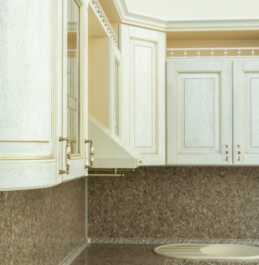 Бежевые кухни-Кухня МДФ в пластике «Модель 50»-фото10