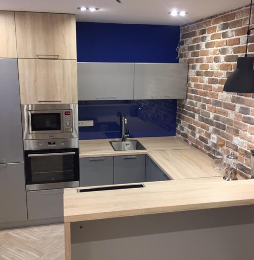 Встроенная кухня-Кухня МДФ в ПВХ «Модель 59»-фото4