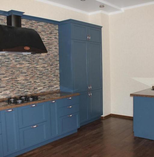 Встроенная кухня-Кухня МДФ в эмали «Модель 155»-фото5