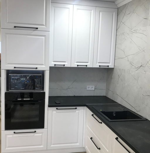 -Кухня МДФ в ПВХ «Модель 553»-фото5