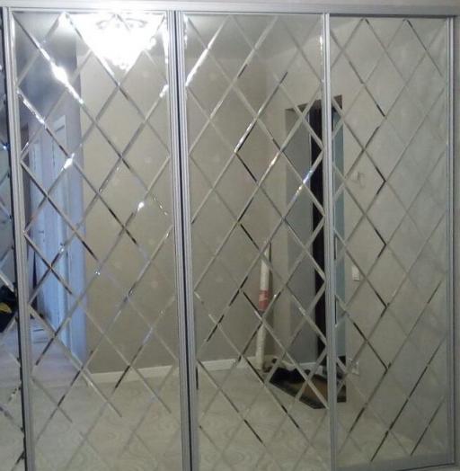 Большой шкаф-купе-Шкаф-купе с зеркалом «Модель 28»-фото4