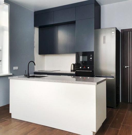 -Кухня МДФ в эмали «Модель 557»-фото16